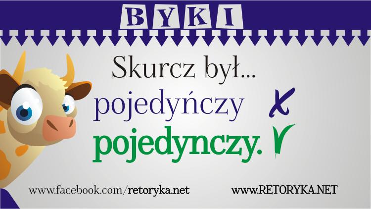 redaktor redakcja tekstu korektor retoryka Justyna Pietnoczka Żaneta Laps pojedyńczy czy pojedynczy