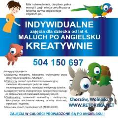 Nowe zajęcia wRetoryce! Język angielski iniemiecki dla dzieci!